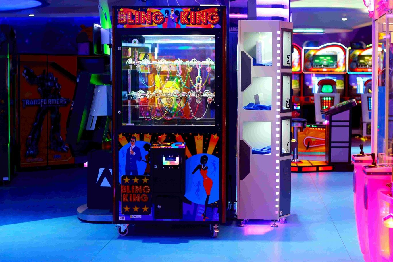Bling King game at Magic Planet Mall of the Emirates