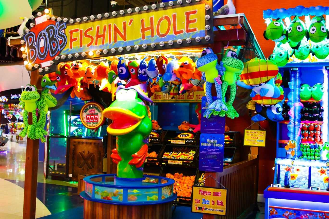 Bob's Fish Hole Game at Magic Planet City Centre Mirdif South