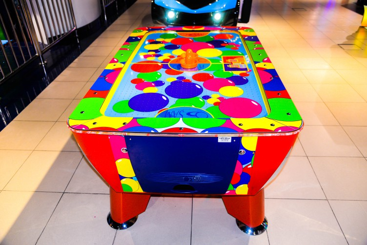 Baby Air Hockey at Magic Planet Mall of the Emirates