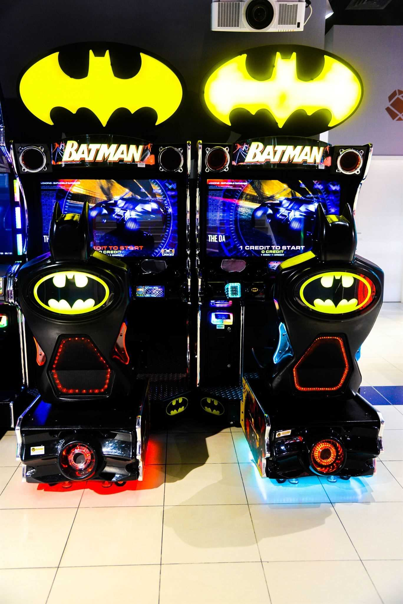 Batman game at Magic Planet Marina Mall Abu Dhabi