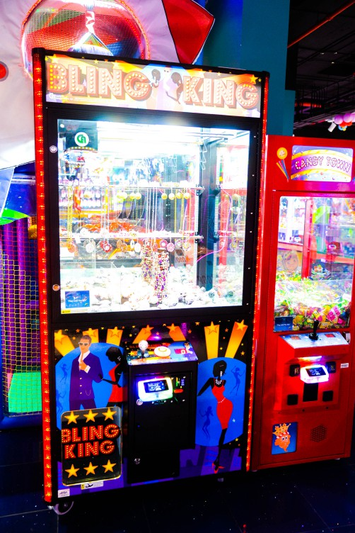 Bling King game at Magic Planet Marina Mall Abu Dhabi