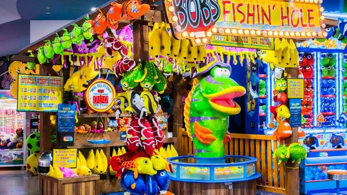 Bob's Fish Hole Game at Magic Planet City Centre Ajman