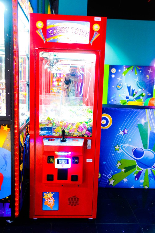 Candy Town game at Magic Planet Mall of the Emirates