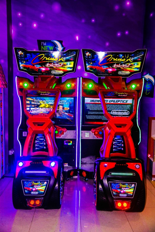Cruise N Blast game at Magic Planet Marina Mall Abu Dhabi
