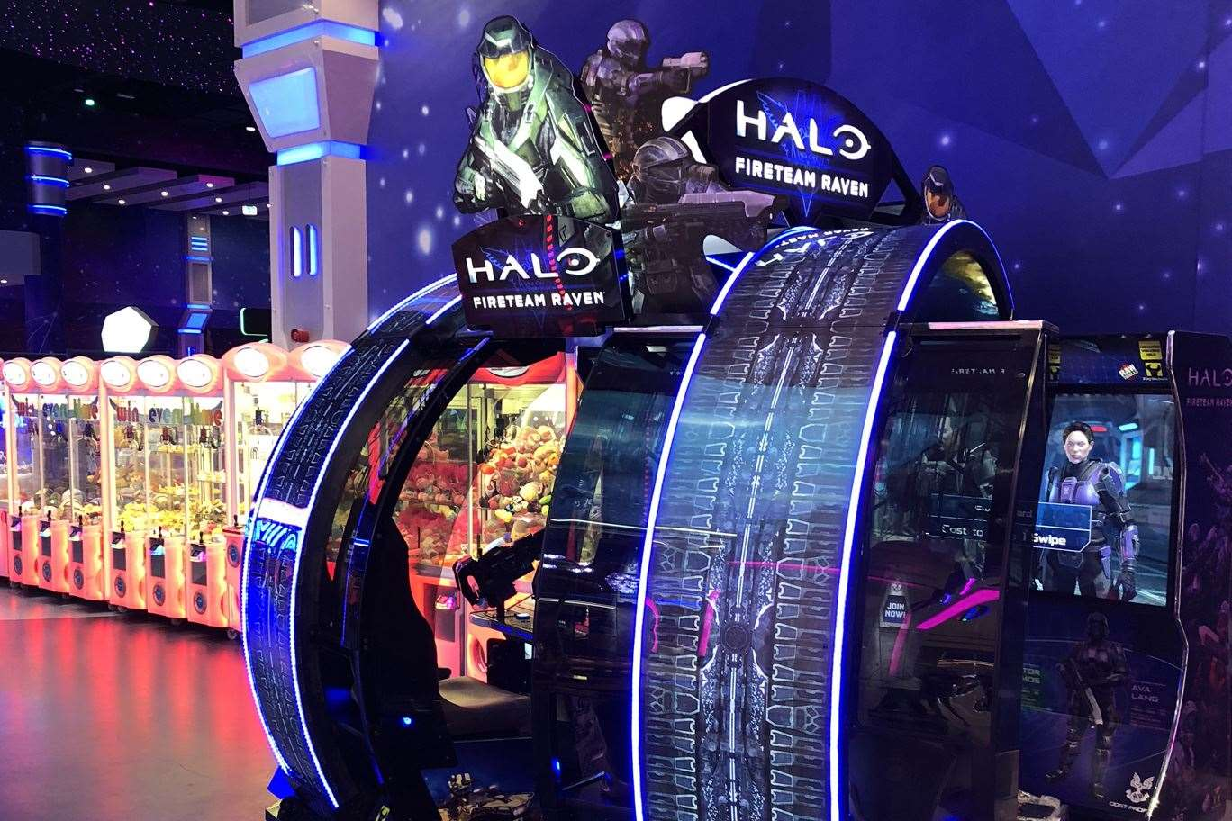 Halo: Fireteam Raven game at Magic Planet Mall of the Emirates