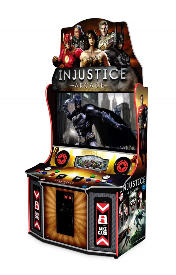 Injustice game at Magic Planet Marina Mall Abu Dhabi
