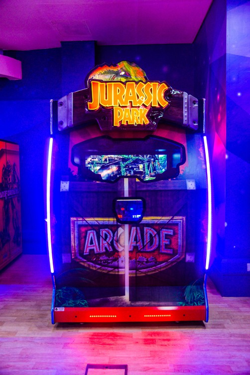 Jurassic Park DX game at Magic Planet Al Jimi Mall