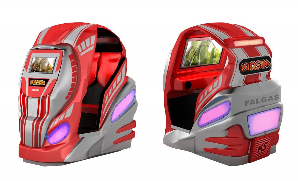 KidSim Simulator at Magic Planet