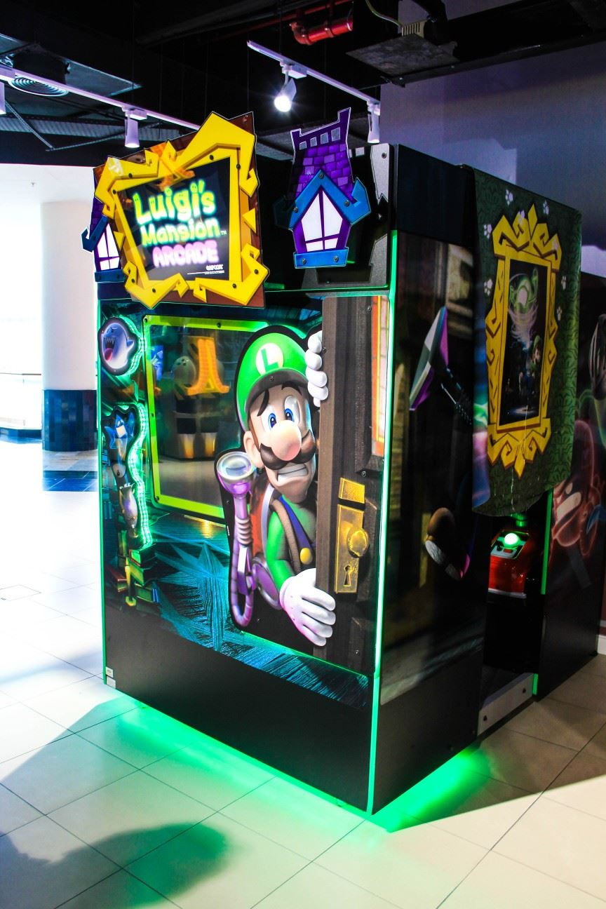 Luigis Mansion Theatre game at Magic Planet Al Jimi Mall