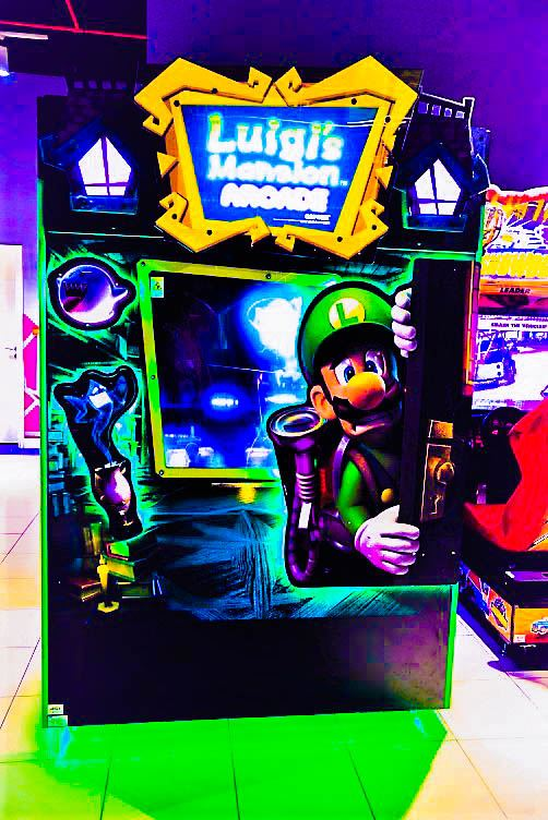 Luigis Mansion Theatre game at Magic Planet Burjuman