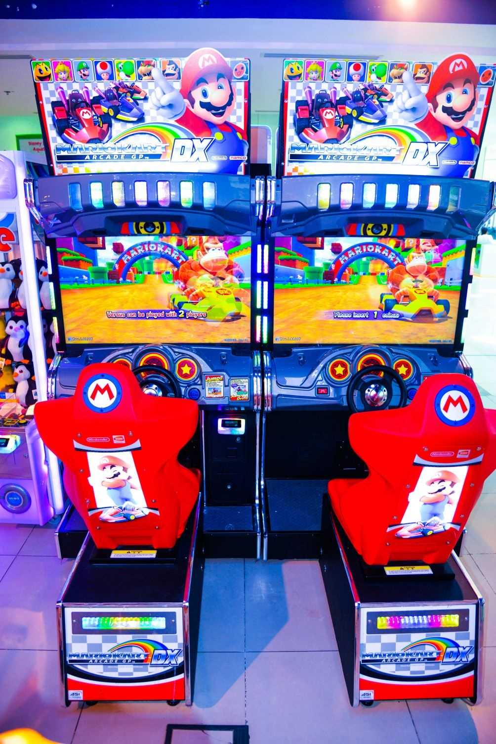 Mario Kart Video Game at Magic Planet