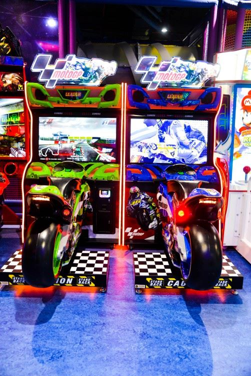 Moto GP Twin game at Magic Planet Marina Mall Abu Dhabi