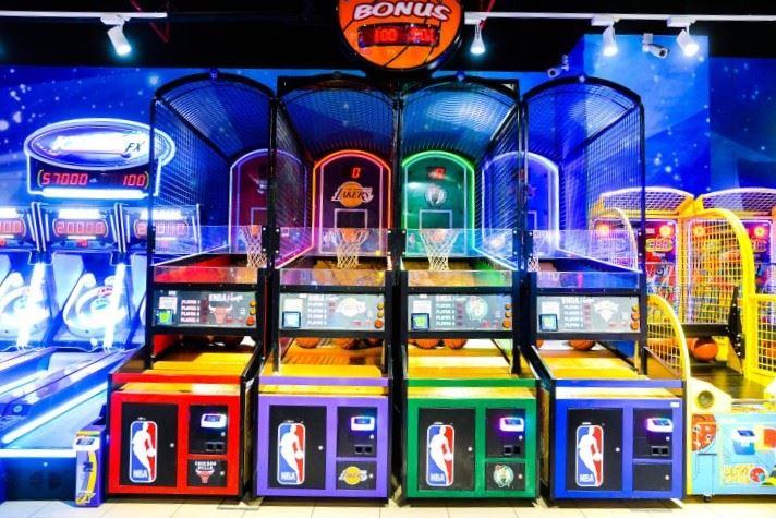 NBA Hoops at Magic Planet