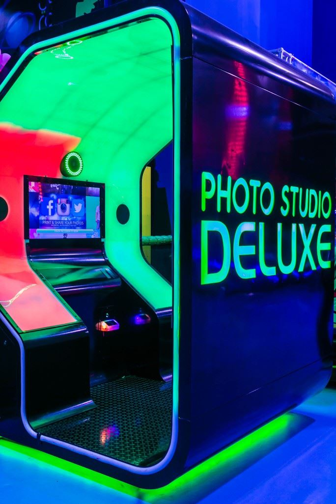 Photo Studio Deluxe game at Magic Planet Mall of the Emirates