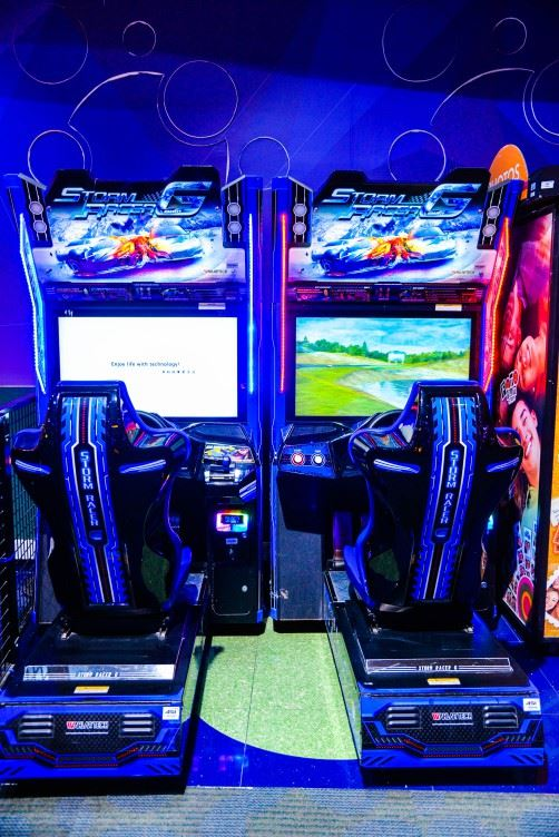 Storm Racer Gravity game at Magic Planet City Centre Sharjah