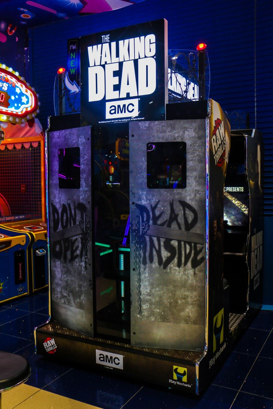 Walking Dead game at Magic Planet Mall of the Emirates