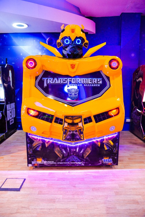 Transformers game at Magic Planet City Centre Sharjah