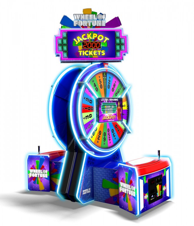Wheel of Fortune at Magic Planet