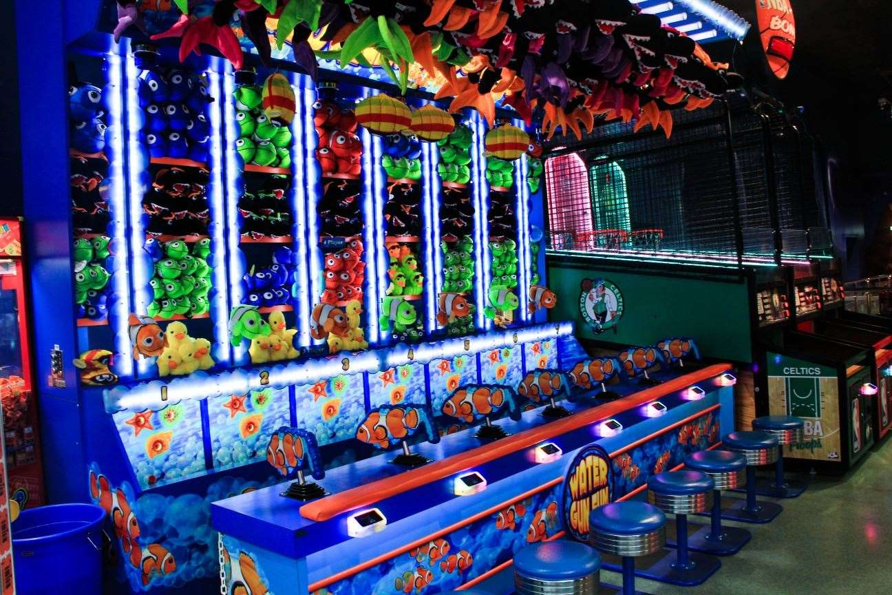 Clowning Around game at Magic Planet City Centre Fujairah